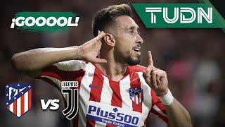 ¡Pero qué debut de Héctor Herrera! El mexicano logra el empate ante la Juventus
