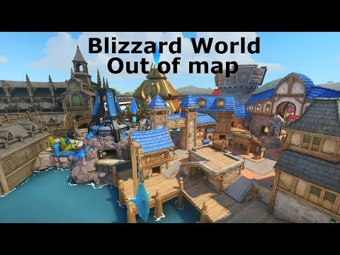 Overwatch Sombra Out Of Map Glitch Blizzard World
