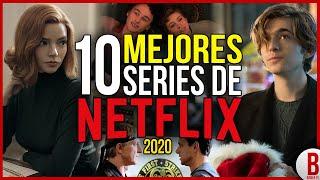 TOP 10 Mejores SERIES de NETFLIX 2020
