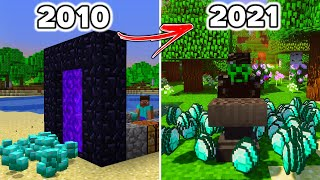 Minecrafts History of DUPE Glitches & Exploits...