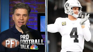 Is Derek Carr the answer for Las Vegas Raiders? | Pro Football Talk | NBC Sports