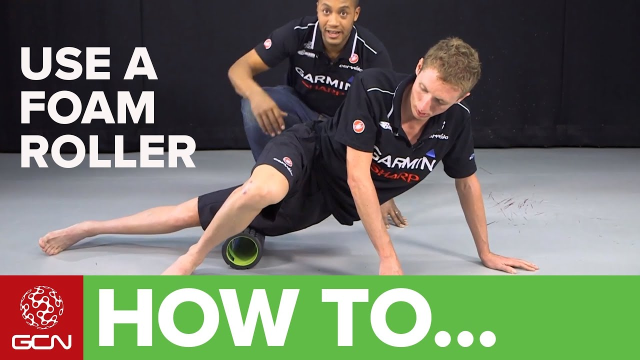 How To Use A Foam Roller - YouTube