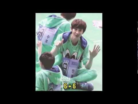 EXO Funny & Dorky Moments @ Idol Star Athletics Championship