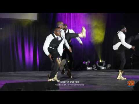 Omega Psi Phi 2016 Atlanta Greek Picnic $10,000 Step show (Official video)