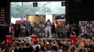 Attila - Party with the Devil Vans Warped Tour 2015 Pittsburgh
