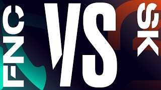FNC vs. SK - Week 1 Day 1 | LEC Spring Split | Fnatic vs. SK Gaming (2019)