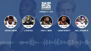 UNDISPUTED Audio Podcast (02.21.19) with Skip Bayless, Shannon Sharpe & Jenny Taft | UNDISPUTED