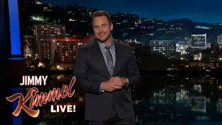 Chris Pratt's Guest Host Monologue on Jimmy Kimmel Live