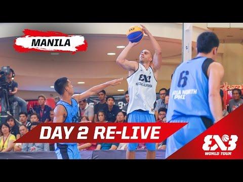 Day 2 + Shoot-Out & Dunk Contests - Re-Live - Manila - 2015 FIBA 3x3 World Tour