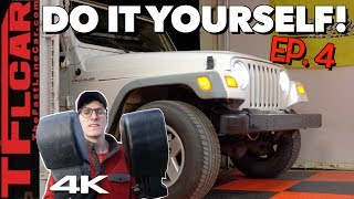 How Much Value Did We Add To Our Old Wrangler? Cheap Jeep Challenge Ep.4