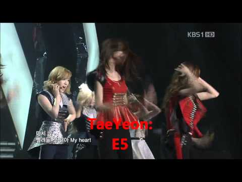 Kim TaeYeon VS. Demi Lovato: LIVE Vocal Battle C5 ~ C6