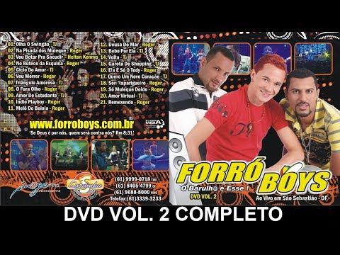 Baixar Forró Boys - Vol 2 DVD Completo