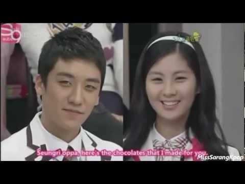 Seungri and Seohyun @ SGB
