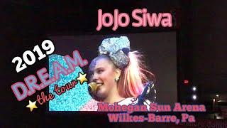 JoJo Siwa D.R.E.A.M. Tour Mohegan Sun Arena Wilkes Barre PA - JoJo Siwa  Concert 2019 - JoJo Siwa
