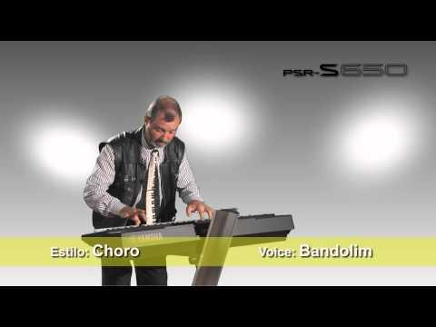 PSR-S650 Demo - Brasil