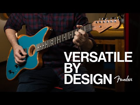 Fender? Releases American Acoustasonic? Jazzmaster?, Adding Cult Classic Guitar To Latest Platform In Sonic Innovation