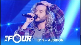Noah Barlass: He's Nervous and Shy But Then He Opens His Mouth...WOW! | S2E5 | The Four