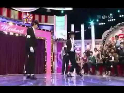 Eunhyuk al estilo  Michael Jackson