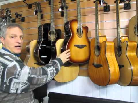 Guitar Review : Overview of Lag Tramontane series models