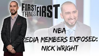 NBA Media Members Exposed: Nick Wright