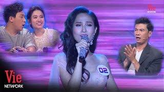 Trấn Thành, Tiết Cương bất ngờ với giọng hát truyền cảm của Hoa hậu chuyển giới Hoài Sa