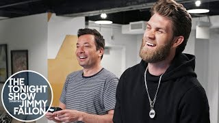Bryce Harper and Jimmy Fallon Play MLB The Show 19