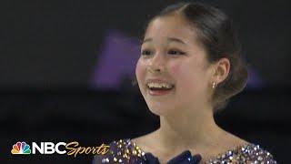 14-year-old Alysa Liu makes history again at 2020 Nationals I NBC Sports