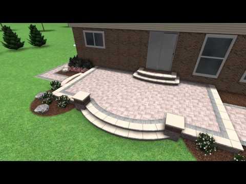Paver Stone Patio Design Rochester Hill MI