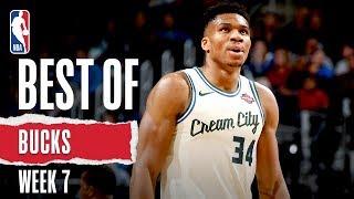 Best Of Bucks   Week 7   2019-20 NBA Season