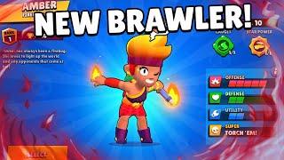AMBER GamePlay!!🔥 She's Over Power?! + Bull & Max New Gadget!!   Brawl Stars