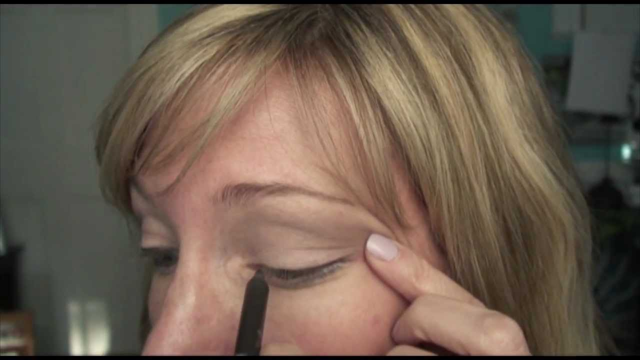 Makeup For Mature Hooded Eye Youtube