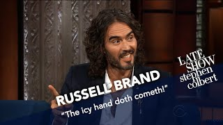 Russell Brand Puts His Spin On The 12-Step Program