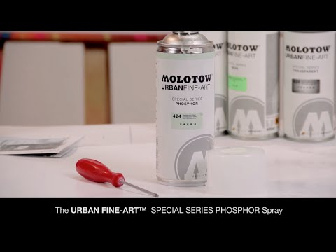 Molotow UFA Phosphor Spray Paint