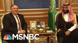 Photos Of Suspect With Prince Defy Donald Trump/Saudi Rogue Killer Story   Rachel Maddow   MSNBC