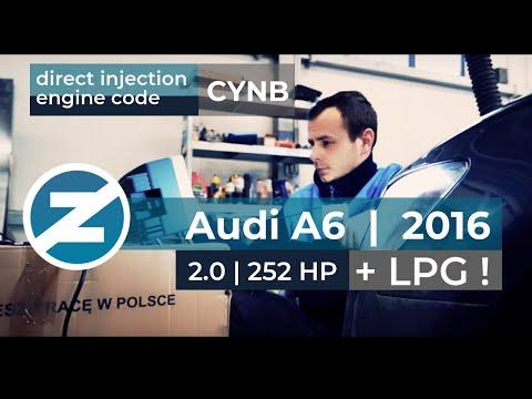 ZENIT - Audi A6 | 2.0 | 252 KM | 2016 | kod silnika: CYNB | Opracowanie instalacji LPG Zenit Direct
