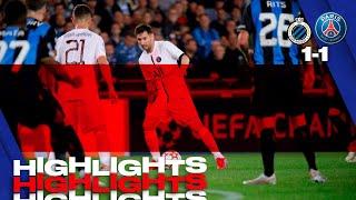 HIGHLIGHTS   BRUGES 1-1 PSG