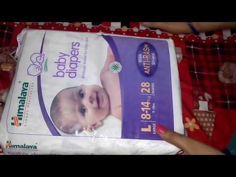 video Himalaya Herbal Total Care Baby Pants Style Diapers Review<span class=