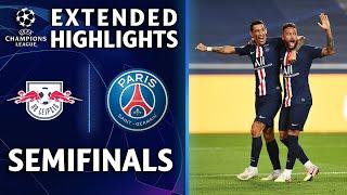 RB Leipzig vs Paris Saint-Germain | Champions League semifinal highlights | UCL on CBS Sports