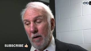 Gregg Popovich Post Game Interview | Spurs vs Rockets
