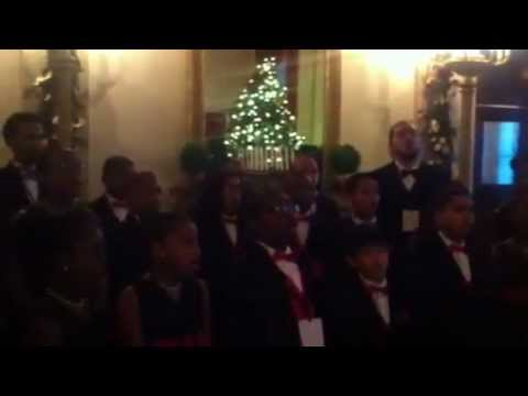 The Voices of Renaissance Performs at the White House