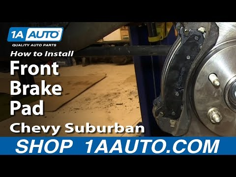 how to change rear brake pads on 99 tahoe