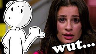 Glee is pretty dumb...