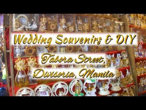 Wedding Souvenir Giveaways Tabora Street Divisoria Manila