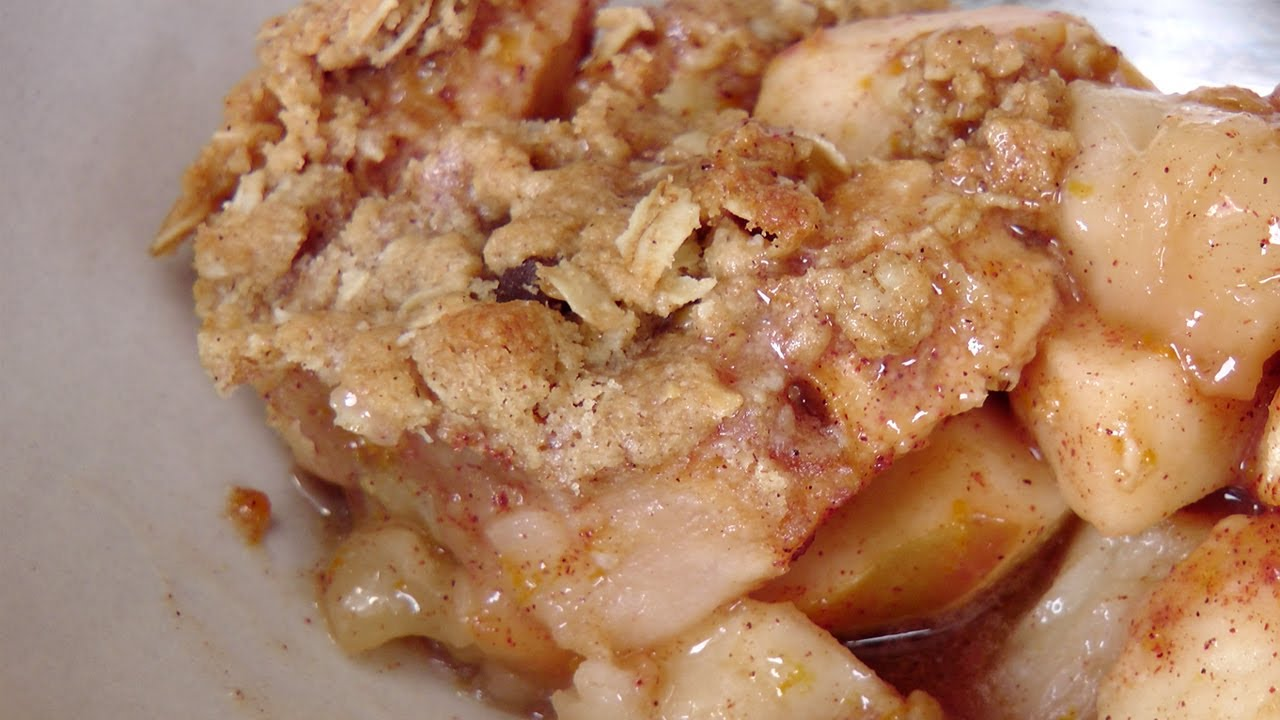Laura In The Kitchen Apple Crisp Recipe