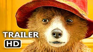 PADDINGTON 2 Official Trailer (2017) New Animation & Kids Movie HD