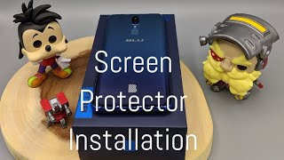 How to Install the BLU G9 Glass Screen Protector