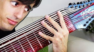 15 Strings Slap Bass Solo