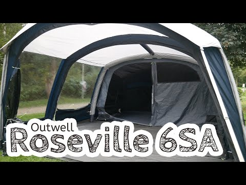 video Outwell Roseville 6SA Family Tent