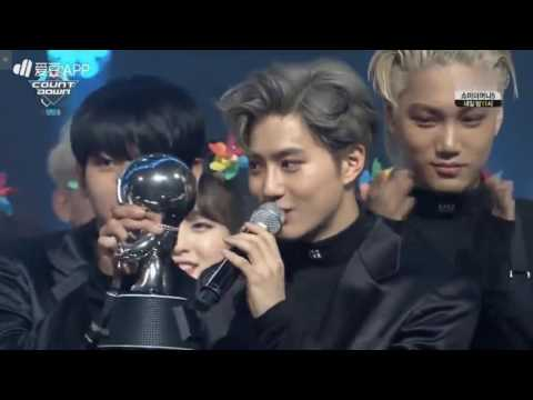160616 Exo Monster 1st win M Countdown