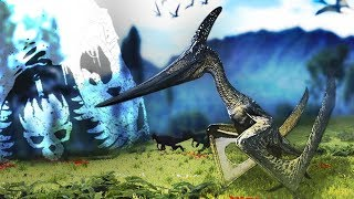 The Isle - FLYERS RETURNING! Pteranodon! New Dinosaur Death Match! - The Isle Gameplay